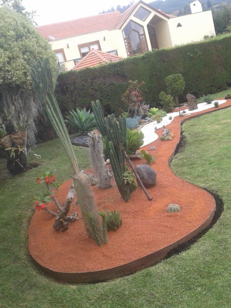 Ladrillo Triturado para Jardín
