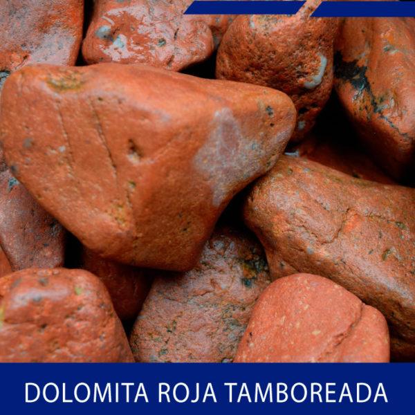 Dolomita roja tamboreada